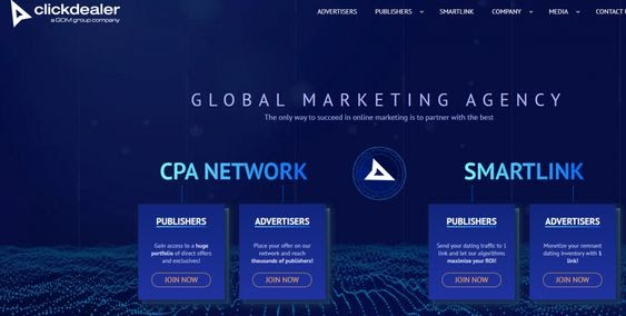 CPA Network ClickDealer