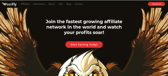 Contoh CPA Network Peerfly