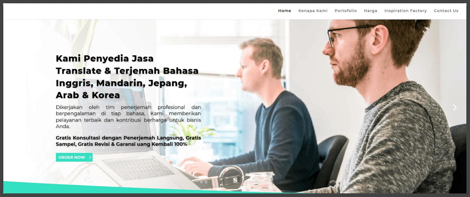 bisnis online jasa terjemah