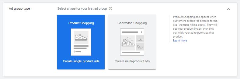 Jenis Tampilan Iklan Google Shopping