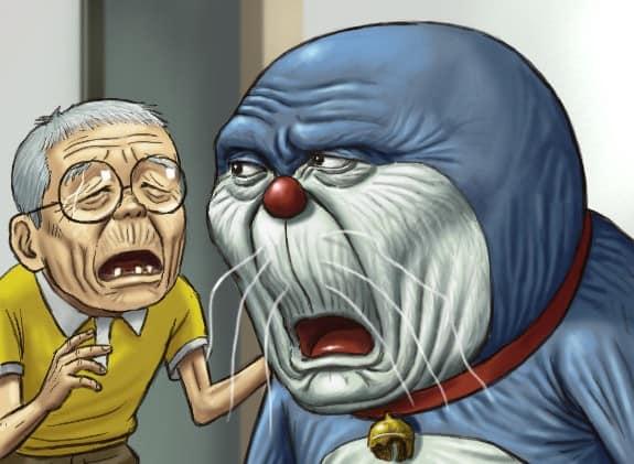 Karikatur Doraemon