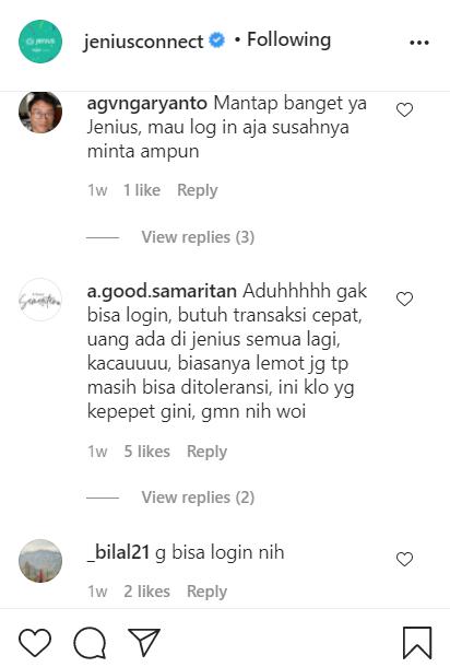 contoh komen negatif di media sosial