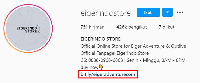 profil instagram eiger