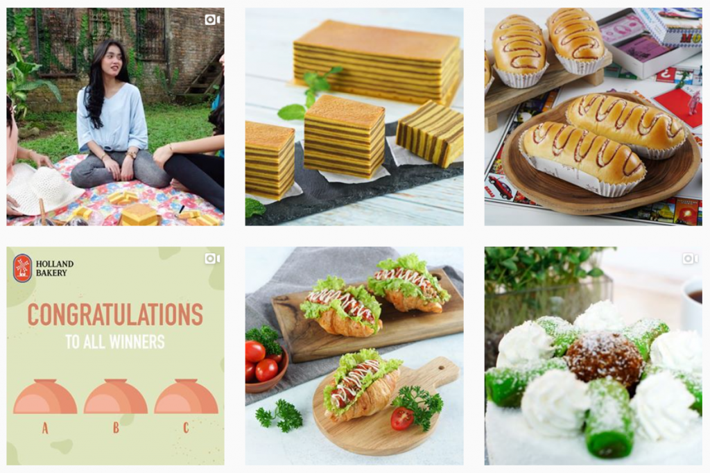 konten instagram holland bakery