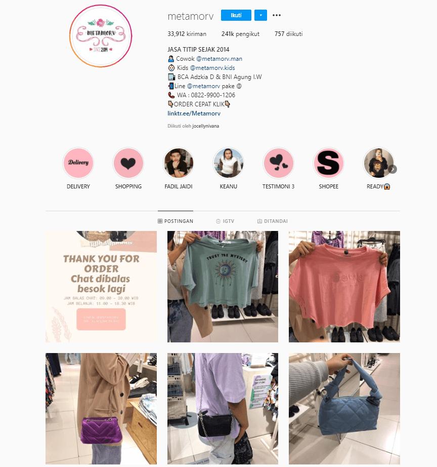 Cara Mendapatkan Uang dari Instagram Jastip