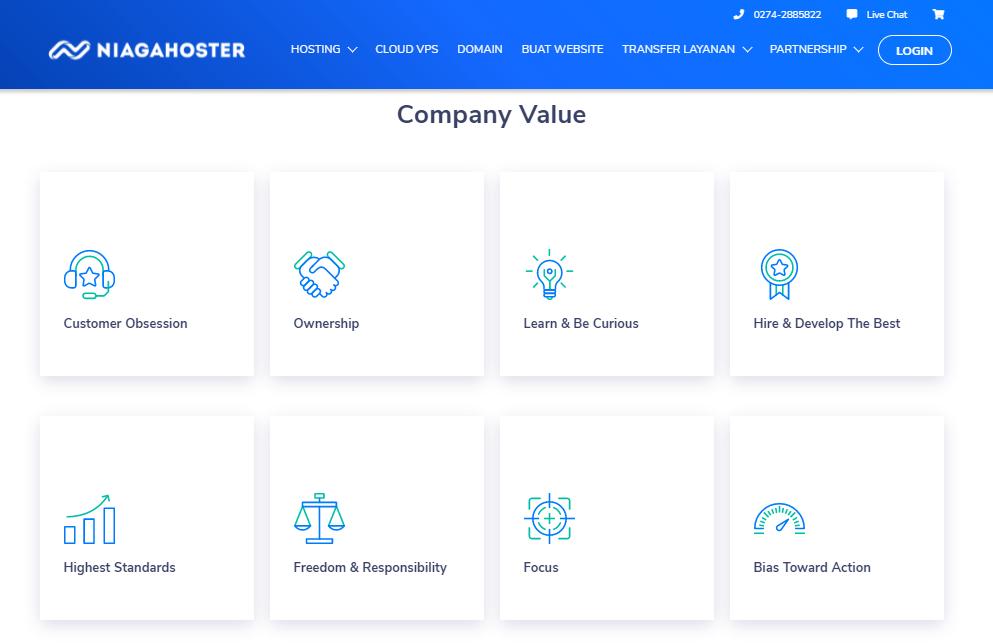 Company Value Niagahoster