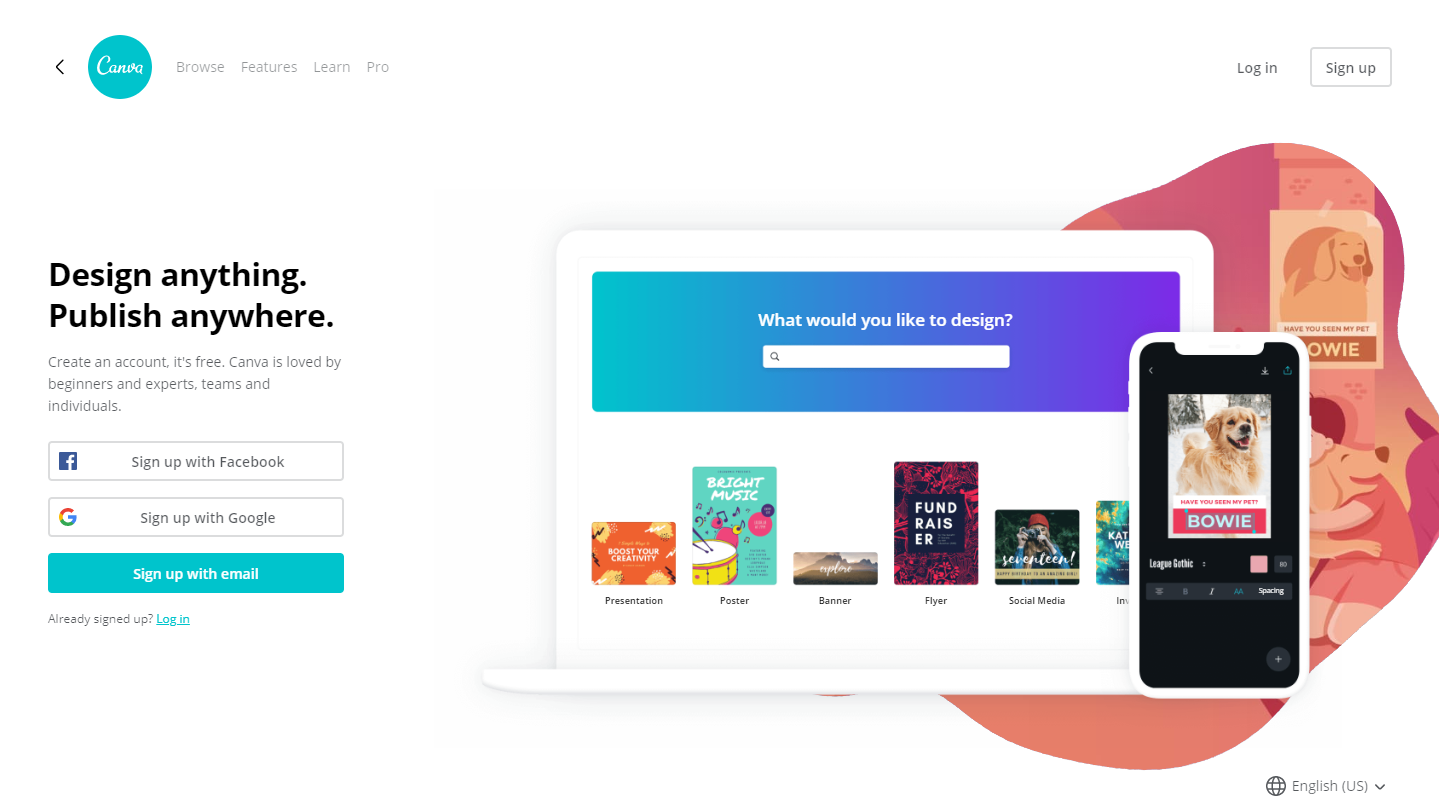 desain logo online gratis canva