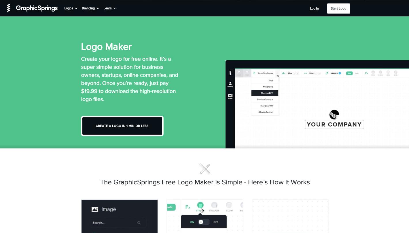 desain logo online gratis graphicsprings