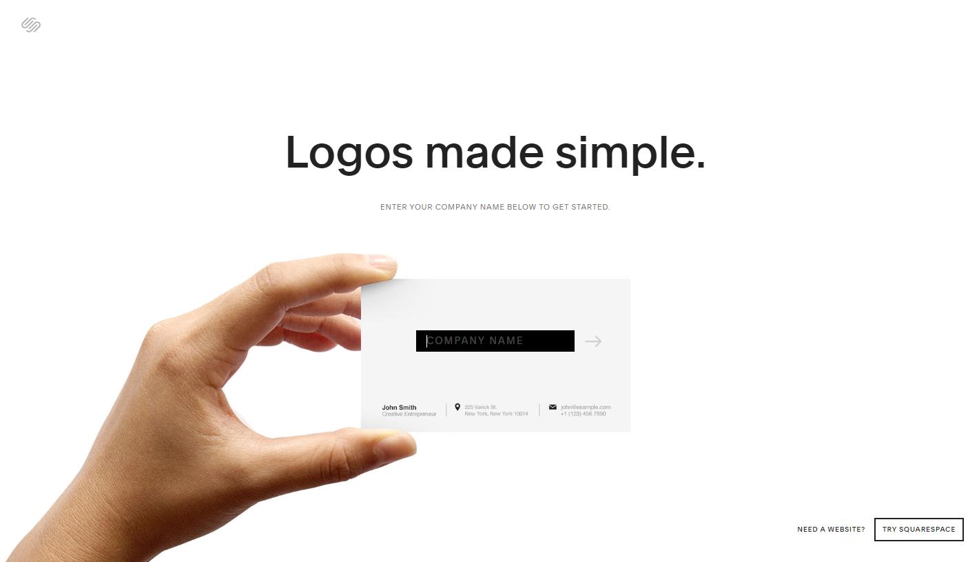 desain logo online gratis squarespace