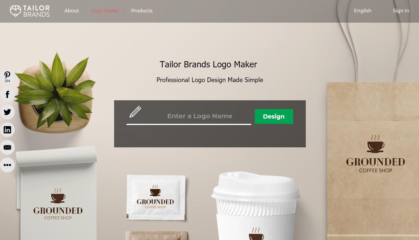 desain logo online gratis tailor brands