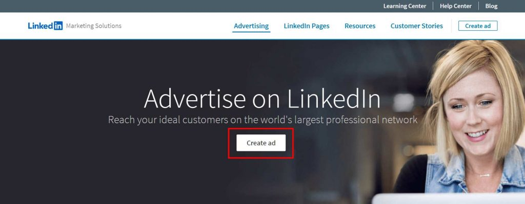 memulai beriklan di LinkedIn Marketing Solution