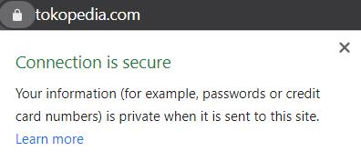 tren keamanan website secure