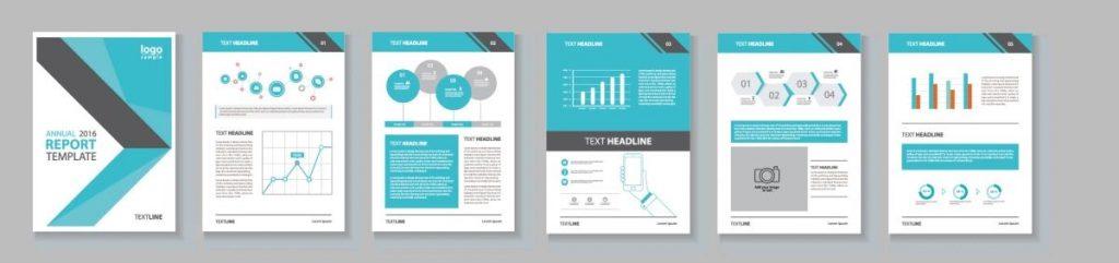contoh template visual dalam brand identity