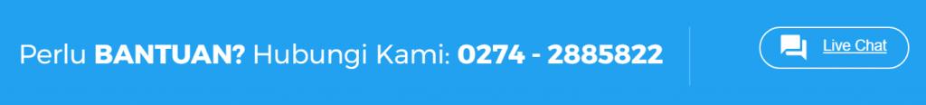 mempertahankan pelanggan dengan phone line dan live chat niagahoster