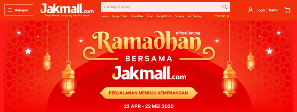 halaman utama promo ramadhan jakmall
