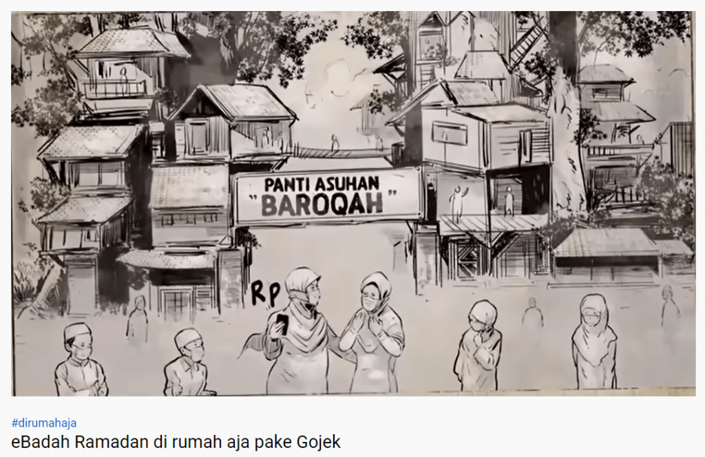 iklan ebadah gojek di youtube