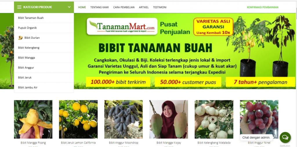Website TanamanMart