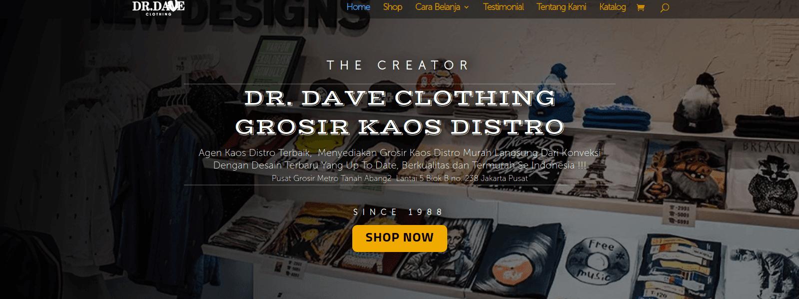 Cara mendapatkan uang dengan membuka toko online di bidang fashion.