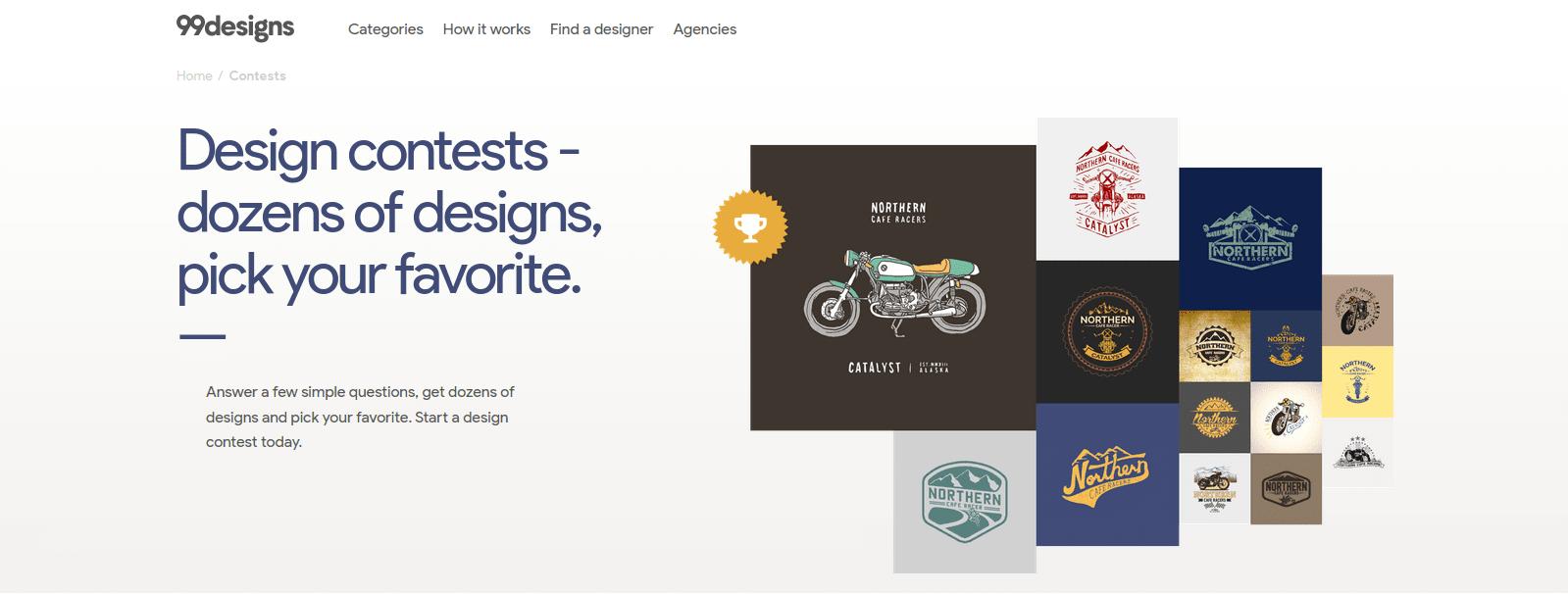 Mengikuti kontes desain bisa jadi cara mendapatkan uang dari internet yang baik.