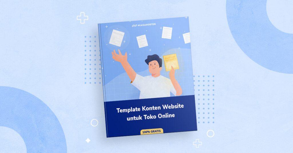 banner ebook template konten website