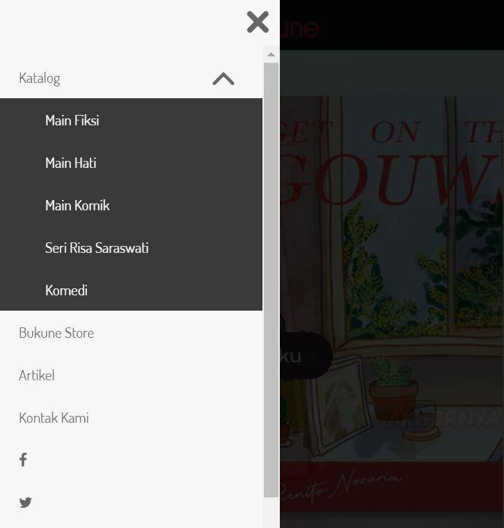 contoh membangun toko online dengan menu yang cocok untuk perangkat mobile