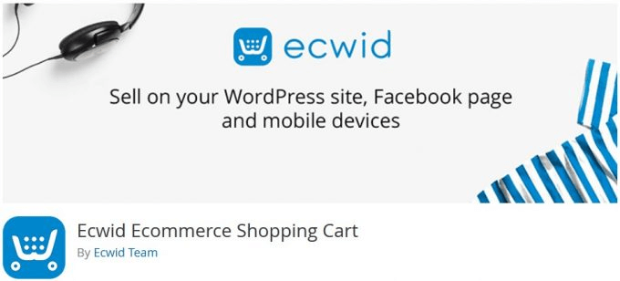 Plugin Toko Online WordPress Ecwid eCommerce