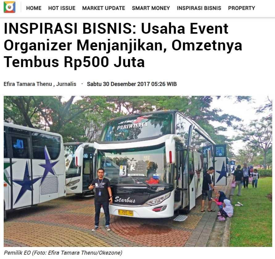 ukm event organizer yang memanfaatkan branding